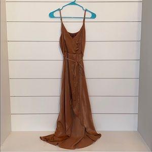 Gianni Bini Faux Wrap Midi Dress